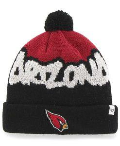 Arizona Cardinals Underdog Cuff Knit Black 47 Brand KID Hat