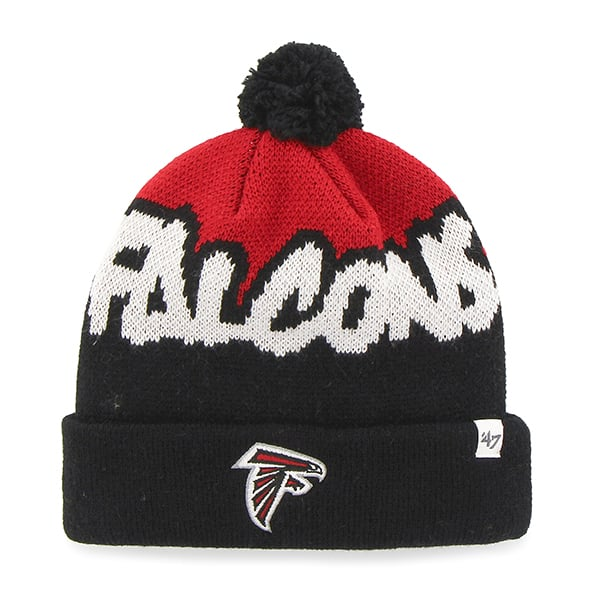 Atlanta Falcons Underdog Cuff Knit Black 47 Brand KID Hat