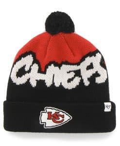 Kansas City Chiefs Underdog Cuff Knit Black 47 Brand KID Hat