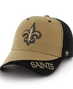 New Orleans Saints Vector Black 47 Brand Adjustable Hat