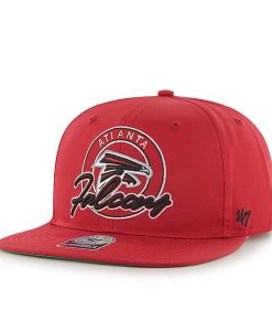 Atlanta Falcons Virapin Red 47 Brand Adjustable Hat