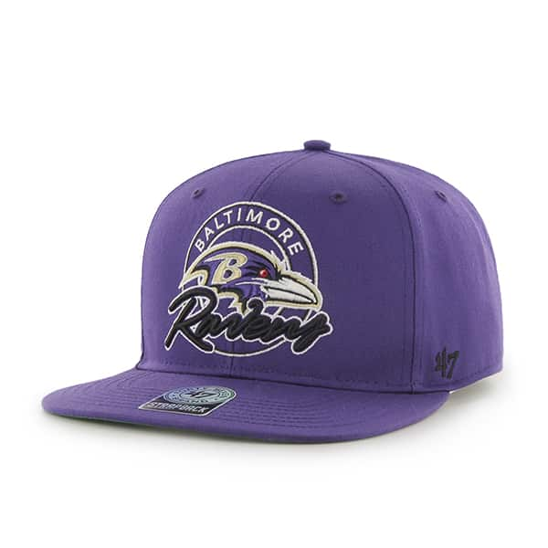 Baltimore Ravens Virapin Purple 47 Brand Adjustable Hat