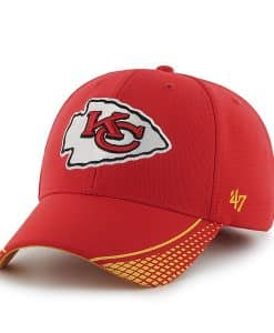 Kansas City Chiefs Warhawk MVP Torch Red 47 Brand Adjustable Hat