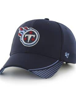 Tennessee Titans Warhawk MVP Light Navy 47 Brand Adjustable Hat