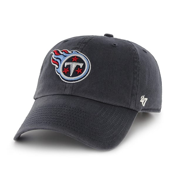 Tennessee Titans Clean Up W/ Side Embroidery Navy 47 Brand Adjustable Hat