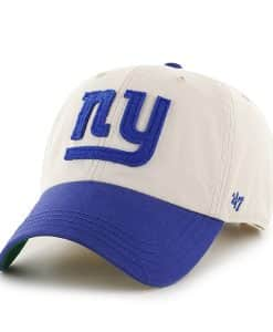 New York Giants Horseshoe Clean Up Natural 47 Brand Adjustable Hat 0507a2acb