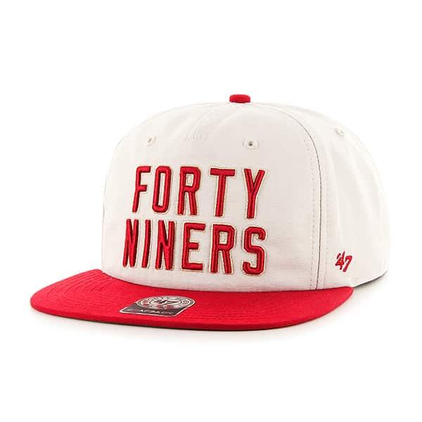 2f7aea3c San Francisco 49Ers Famer Captain Rf Natural 47 Brand Adjustable Hat