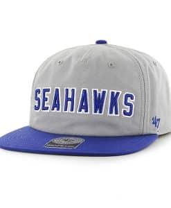 Seattle Seahawks Famer Captain Rf Gray 47 Brand Adjustable Hat