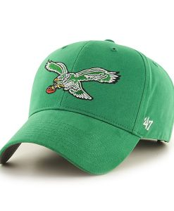 Philadelphia Eagles Basic MVP Kelly 47 Brand YOUTH Hat
