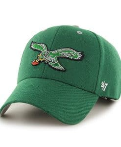 Philadelphia Eagles Audible MVP Kelly 47 Brand Adjustable Hat