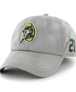 Green Bay Packers Dreadnought Gray 47 Brand Adjustable Hat