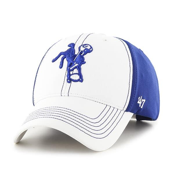 Indianapolis Colts Overturn MVP Royal 47 Brand Adjustable Hat