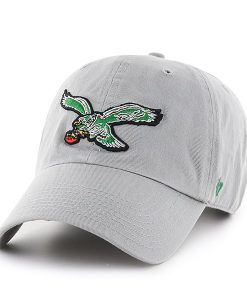 Philadelphia Eagles Clean Up Gray 47 Brand Adjustable Hat