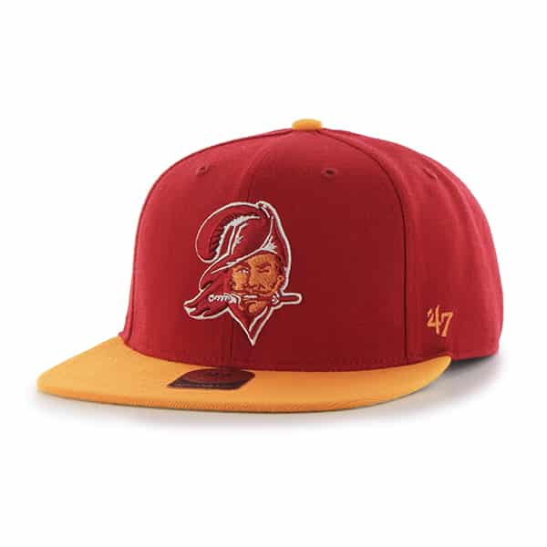 Tampa Bay Buccaneers Super Shot Two Tone Captain Red 47 Brand Adjustable Hat
