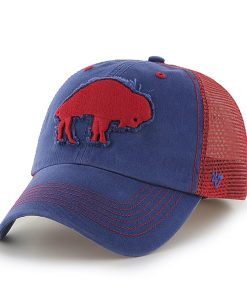 Buffalo Bills Taylor Closer Royal 47 Brand Stretch Fit Hat