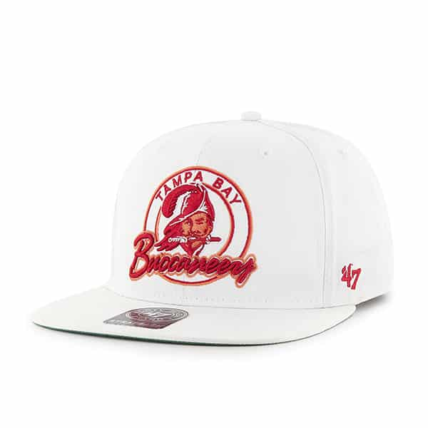 Tampa Bay Buccaneers Virapin White 47 Brand Adjustable Hat