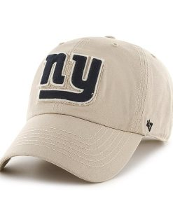 New York Giants Wright Clean Up Khaki 47 Brand Adjustable Hat