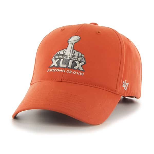 256bcaf962 Nfl Super Bowl Basic MVP Orange 47 Brand Adjustable Hat - Detroit ...