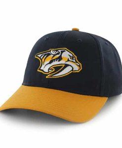 Nashville Predators Two Tone Basic Navy 47 Brand YOUTH Hat