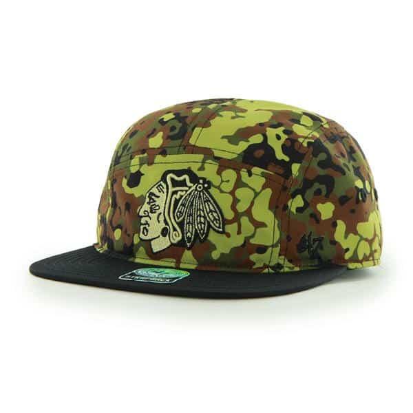 Chicago Blackhawks Alcove White 47 Brand Adjustable Hat