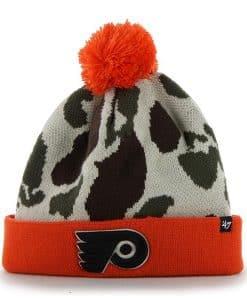 Philadelphia Flyers Bushroot Natural 47 Brand Adjustable Hat