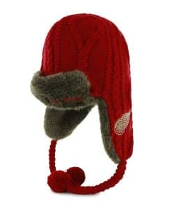 Detroit Red Wings Bunny Slope Red 47 Brand Womens Hat