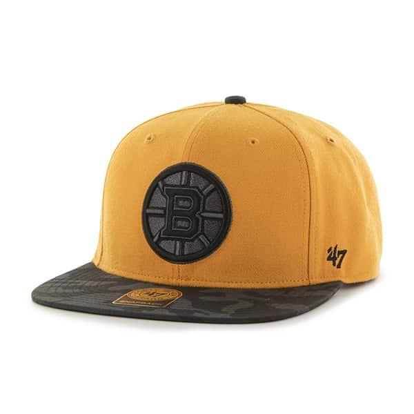 Boston Bruins Countershot Captain Gold 47 Brand Adjustable Hat