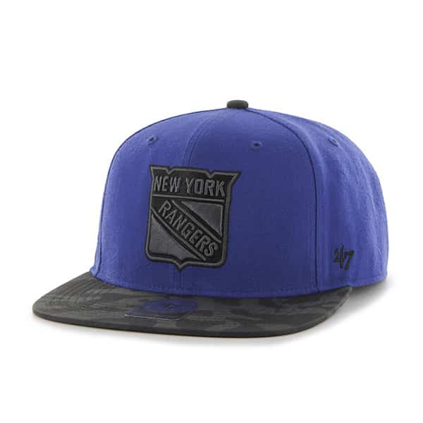 New York Rangers Countershot Captain Royal 47 Brand Adjustable Hat