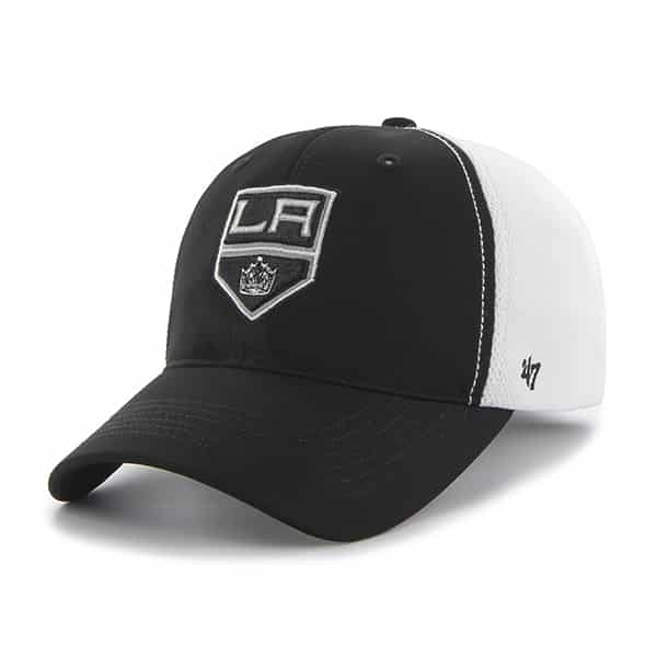 Los Angeles Kings Draft Day Closer Black 47 Brand Stretch Fit Hat