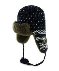 Buffalo Sabres Fair Isle Sherpa Navy 47 Brand Womens Hat
