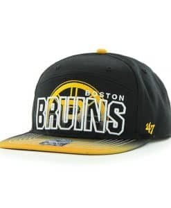 Boston Bruins Glowdown Black 47 Brand Adjustable Hat