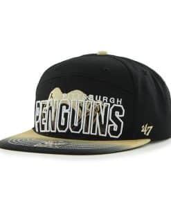Pittsburgh Penguins Glowdown Black 47 Brand Adjustable Hat