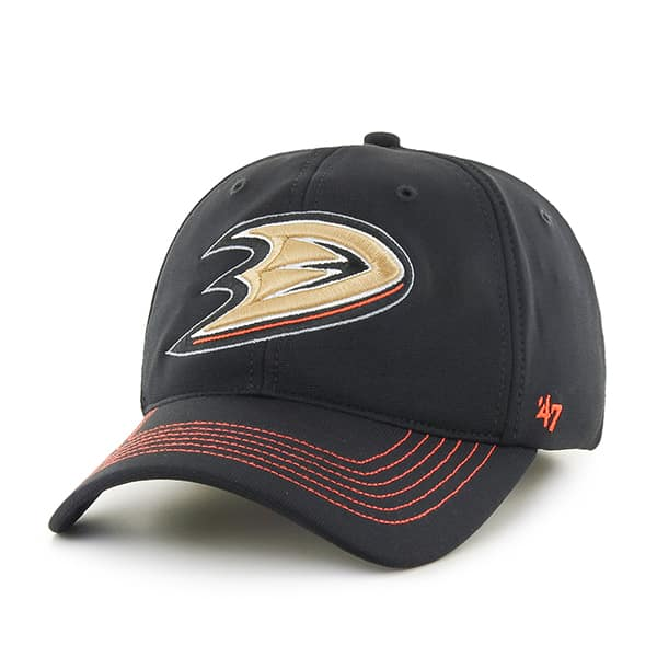 Anaheim Ducks Game Time Closer Black 47 Brand Stretch Fit Hat