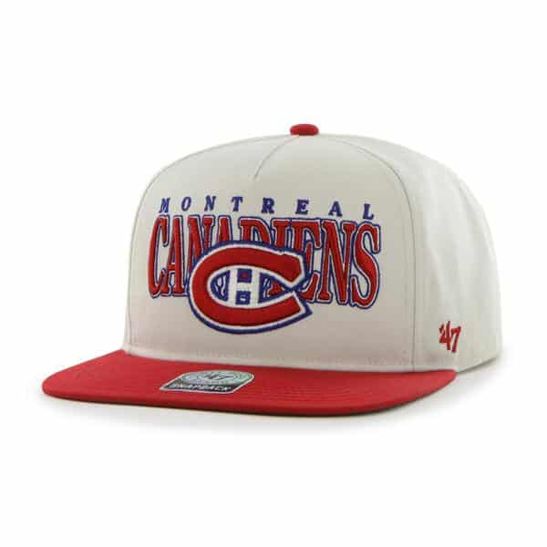Montreal Canadiens Go Jo Captain Dt Natural 47 Brand Adjustable Hat