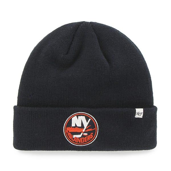 New York Islanders Cuff Knit Navy 47 Brand YOUTH Hat