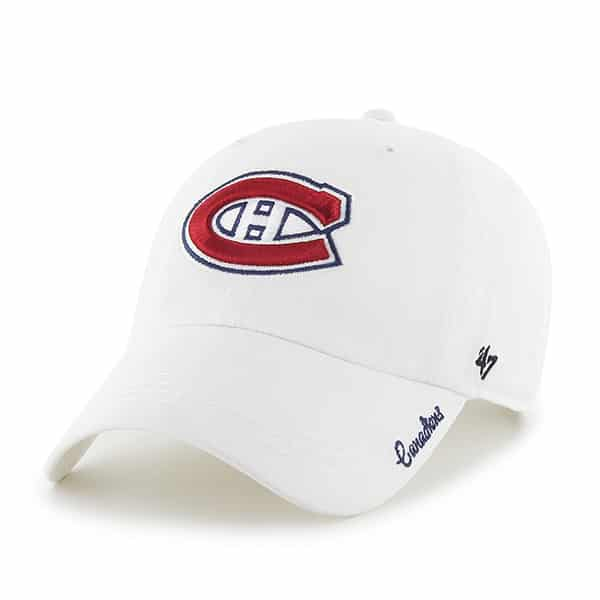 Montreal Canadiens Miata Clean Up White 47 Brand Womens Hat