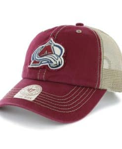 Colorado Avalanche Montana Cardinal 47 Brand Adjustable Hat