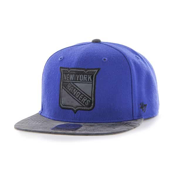 New York Rangers Moon Shot Captain Royal 47 Brand Adjustable Hat