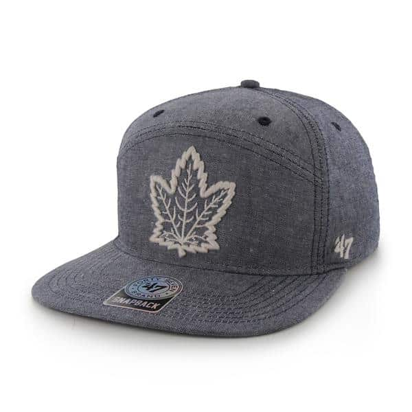 Toronto Maple Leafs Morris Navy 47 Brand Adjustable Hat