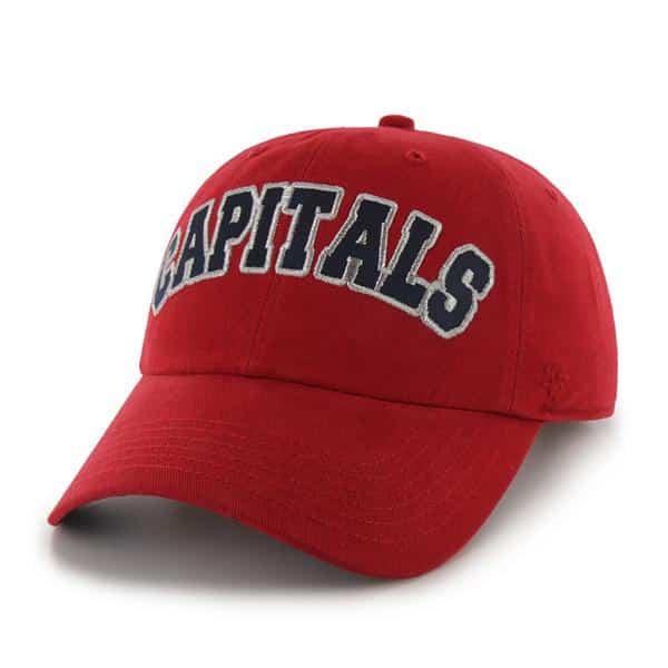 Washington Capitals Natalie Red 47 Brand Womens Hat