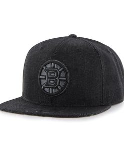 Boston Bruins Nero Captain Black 47 Brand Adjustable Hat