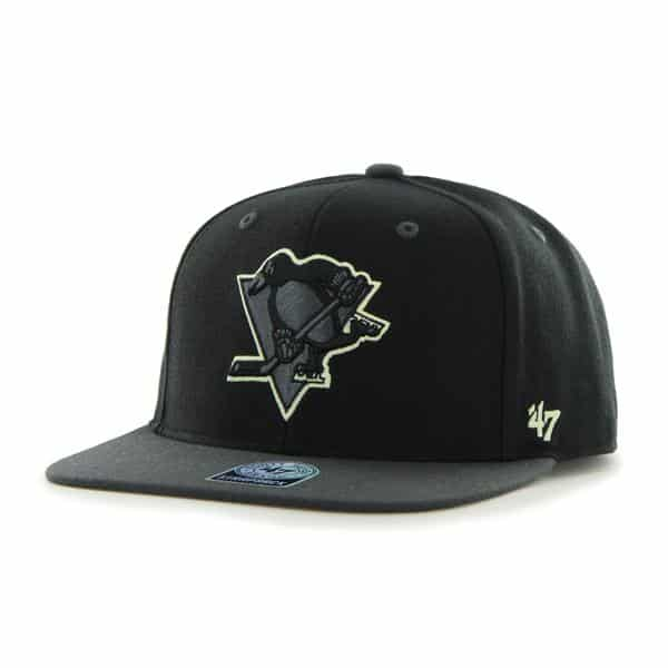 Pittsburgh Penguins Night Move Black 47 Brand Adjustable Hat