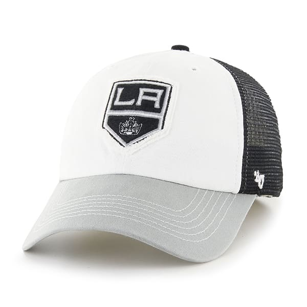 Los Angeles Kings Privateer Closer Black 47 Brand Stretch Fit Hat