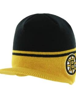 Boston Bruins Powerback Black 47 Brand Adjustable Hat