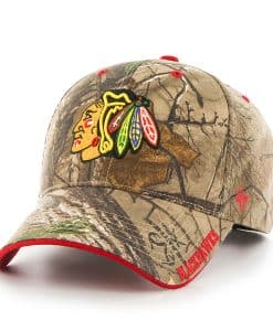 Chicago Blackhawks Realtree Frost Realtree 47 Brand Adjustable Hat