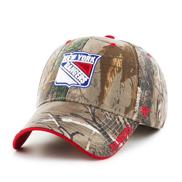 New York Rangers Realtree Frost Realtree 47 Brand Adjustable Hat