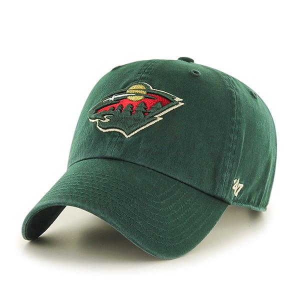 Minnesota Wild Clean Up Dark Green 47 Brand Adjustable Hat