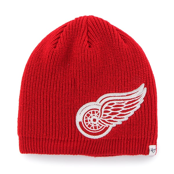 Detroit Red Wings Sparkle Beanie Red 47 Brand Womens Hat