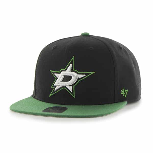 Dallas Stars Sure Shot Two Tone Captain Black 47 Brand Adjustable Hat