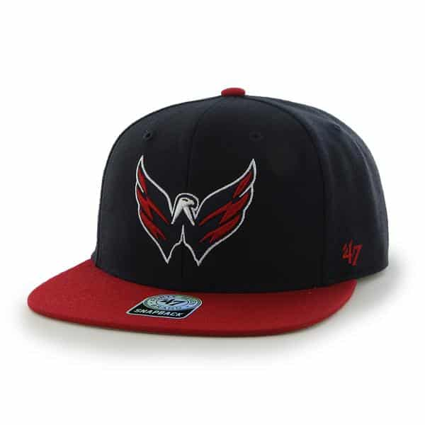 Washington Capitals Sure Shot Two Tone Captain Navy 47 Brand Adjustable Hat